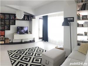Apartament 2 camere, complet mobilat, Bucurestii Noi, 200 m Metrou Laminorului - imagine 7