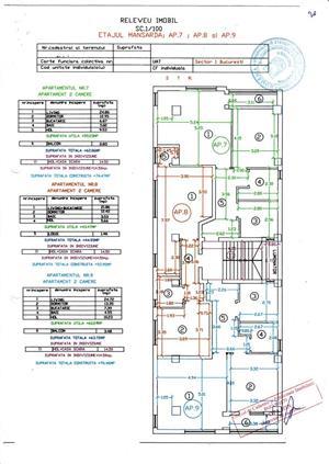 Apartament 2 camere, complet mobilat, Bucurestii Noi, 200 m Metrou Laminorului - imagine 10