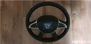 Volan piele cu comenzi + capac Dacia Dokker , Dacia Dokker Express Nou - imagine 3