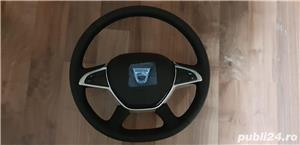 Volan piele cu comenzi + capac Dacia Dokker , Dacia Dokker Express Nou - imagine 1