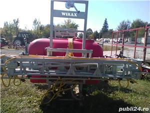 ERBICIDATOR GALVANIZAT DE 800 L CU LANCE DE 15 M - imagine 2