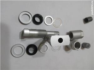 Valva ( TPMS ) pentru senzor presiune roti roata janta -H - imagine 5