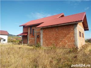 Casa la rosu in Busag, 180 mp, inchisa cu termopan si tencuita - imagine 3