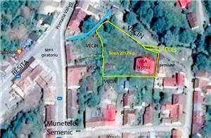 Vila la rosu cu teren - imagine 1