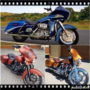 Harley Davidson Road Glide Street Glide Road King Electra Glide FatBoy  - imagine 1