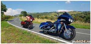 Harley Davidson Road Glide Street Glide Road King Electra Glide FatBoy  - imagine 2