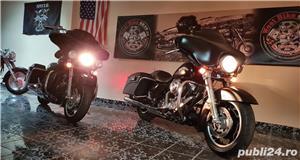 Harley Davidson Road Glide Street Glide Road King Electra Glide FatBoy  - imagine 3