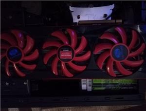 Placa video amd 7990 6 gb 768 biti, gddr5, gaming sau minat - imagine 2