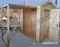 CASUTE DE INCHIRIAT, INCHIRIERE  Casute din lemn pentru targ - imagine 1