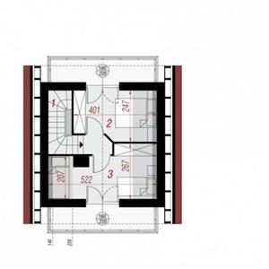 Kit casă lemn 72 mp - imagine 4