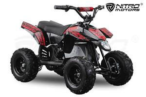 Atv electric Pentru copii NITRO Eco Trio Quad 350W 24V  - imagine 2