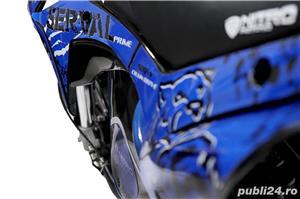 Altele motocicleta electric pentru copii NITRO Eco Serval 500W  - imagine 9