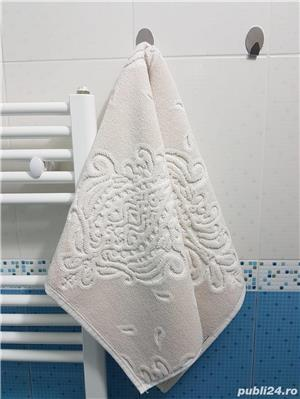 Prosop gros de baie pentru picioare 52*84 cm , 100% bumbac - imagine 3