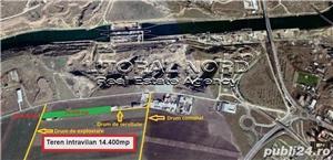 Ovidiu, teren intravilan 14.400 mp, pentru activitati industriale si comerciale - imagine 1