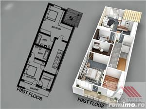 Dumbravita, Dupex, 3 dormitoare, 4 bai, calitate austriaca - imagine 9