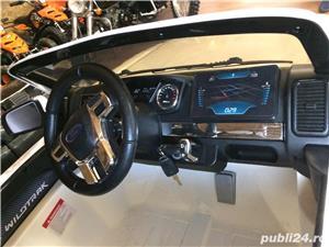 Kinderauto Ford Ranger (Modelul NOU) 2x 35W 12V, USB, 2xLocuri, 2xUsi #ALB - imagine 2