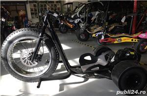 Altele Motocicleta NITRO DRIFT-TRIKE  49cc Roti 20 cu 10 - imagine 2