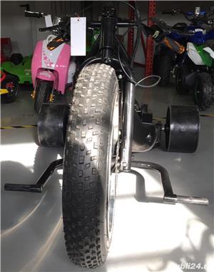 Altele Motocicleta NITRO DRIFT-TRIKE  49cc Roti 20 cu 10 - imagine 4