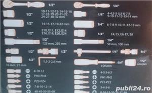 trusa scule profesionala mare,tesla,noua,111piese cromvavadiu,calitate,ev.ramburs - imagine 3