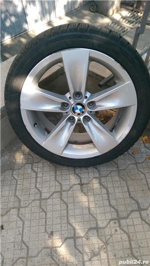 Jante aliaj - BMW echipate cu cauciucuri de iarna 245/40/r18 - imagine 1