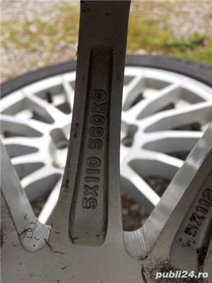 Jante 205/55/R16 5x110 cu cauciucuri de iarna 4 buc - imagine 3