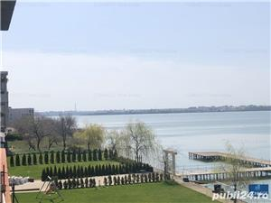 Statiunea Mamaia, prima linie la lac, ponton ambarcatiuni - imagine 1