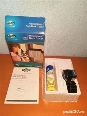Zgarda antilatrat cu pulverizator inofensivă pentru animal - imagine 1