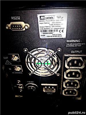 UPS Mustek PowerMust 1000 USB - imagine 2