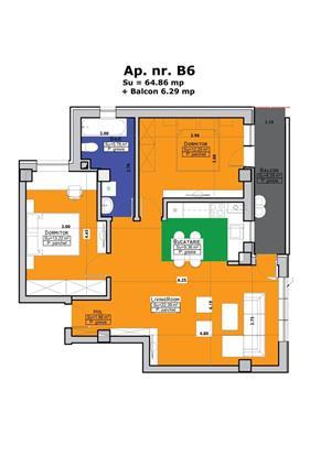 De vanzare apartament cu 3 camere Imobil Cehov - imagine 2