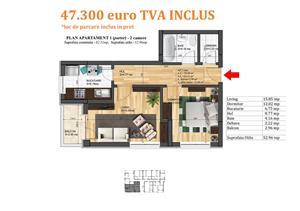 Apartament 2 camere, Magurele, bloc nou, finisaje premium - imagine 7
