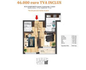 Apartament 2 camere, Magurele, bloc nou, finisaje premium - imagine 6