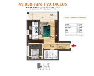 Apartament 2 camere, Magurele, bloc nou, finisaje premium - imagine 8