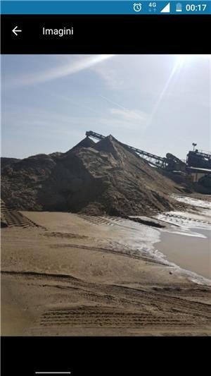 Transport nisip balast șorț pământ griblura ridic moloz cu bobcat si camionete  - imagine 1