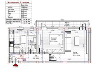 Comision 0! 2 camere confort 1 decomandat. - imagine 1