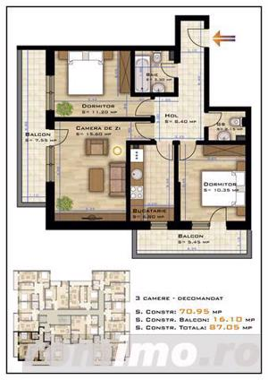 Apartament Pallady, 7 minute de metroul 1 Decembrie, parcare inclusa in acte - imagine 17