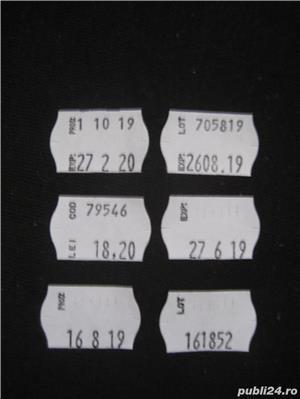 Marcator de preturi, imprimare 2 randuri ( cod+pret) - imagine 2