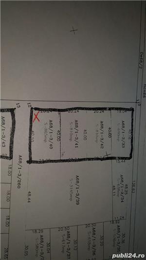 Proprietar vând teren 865 MP CU UTILITĂȚI BRAYTIM, PUZ P+2-LOCUINTE COLECTIVE CALEA URSENI  - imagine 4