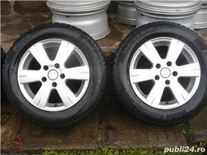 4 jante de aluminiu 15'' pe VW PASSAT, GOLF 5,6,TOURAN , 5X112 - imagine 5