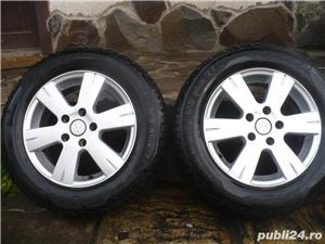 4 jante de aluminiu 15'' pe VW PASSAT, GOLF 5,6,TOURAN , 5X112 - imagine 4