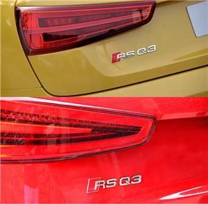 Accesorii Audi S-line embleme grila aripi breloc sline  - imagine 4