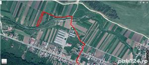 Teren 2400 mp in gilau langa Cluj Napoca  la 300 mp de drumul principal. 9 euro mp  - imagine 2