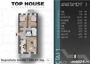 Apartament decomandat cu 3 camere, Stradal zona Metalurgiei  - imagine 3