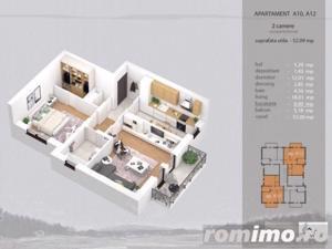 Apartament 2 camere complet decomandat, bloc nou - imagine 6