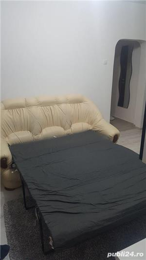 Canapea extensibilă cu 2 fotolii - imagine 2
