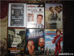 DUSTIN HOFFMAN,PHILIP SEYMOUR HOFFMAN,30 FILME DVD,SUBTITRATE ROMANA,UNICATE SI RARITATI,COLECTIE - imagine 2