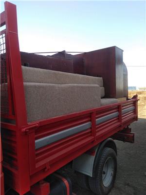 Transport marfa mobilă materiale de construcții executam mutări transport moloz în saci gunoi  - imagine 5