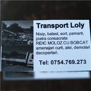 Transport marfa mobilă materiale de construcții executam mutări transport moloz în saci gunoi  - imagine 4
