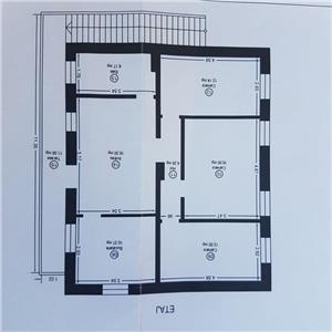 Vand ap la etaj in vila P+E,4camere,in zona Kiriac,cu intrare separata - imagine 1