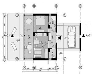 Kit casă vacanță 62 mp - imagine 3