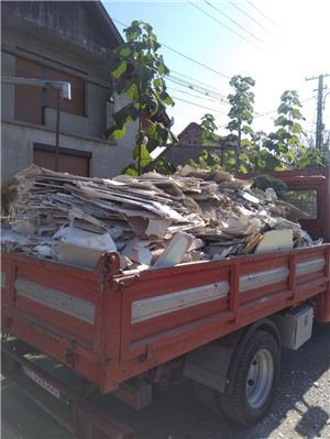 Debarasari moloz  în saci gunoi deșeuri ridic moloz cu bobcat executam lucrari cu camionete  - imagine 5